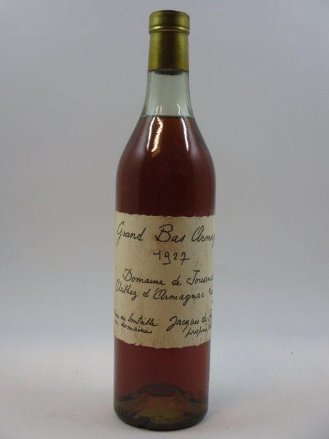 1 bouteille BAS ARMAGNAC 1927 Domaine de Jouanda