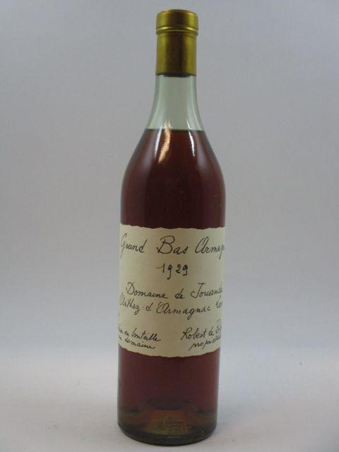 1 bouteille BAS ARMAGNAC 1929 Domaine de Jouanda