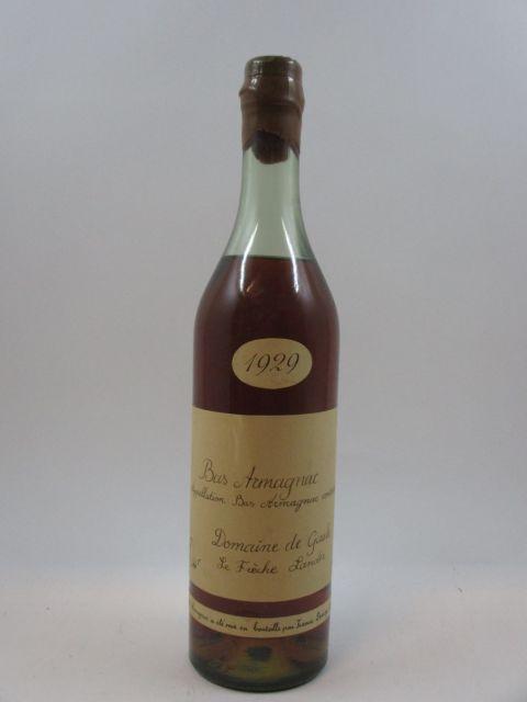 1 bouteille BAS ARMAGNAC 1929 Darroze