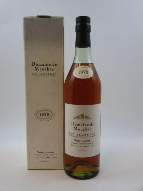 1 bouteille BAS ARMAGNAC DOMAINE DE MOUCHAC 1979 Pierre Janneau (70 cl