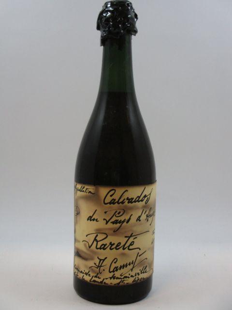 1 bouteille CALVADOS PAYS D'AUGE Rareté
