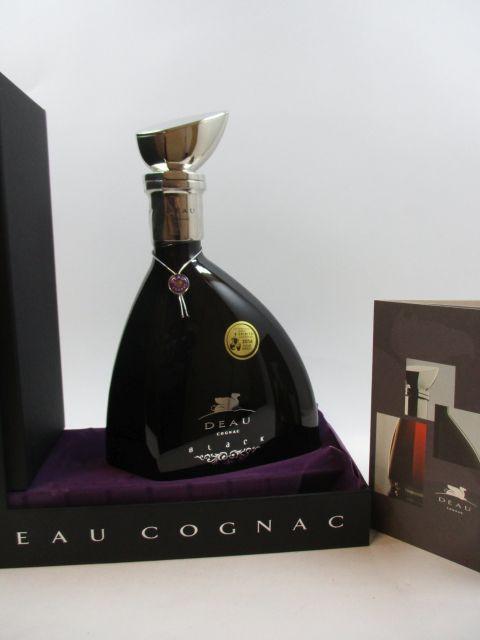 1 bouteille COGNAC DEAU Cuvée Black (70 cl