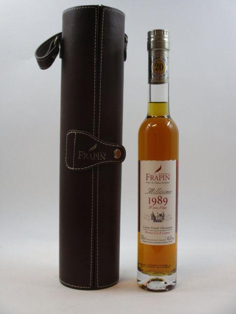 1 demi bouteille COGNAC FRAPIN 1989 Trésor du Château Fontpinot