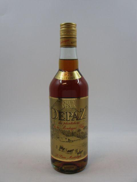 1 bouteille RHUM DEPAZ 1979 Vieux Rhum Agricole