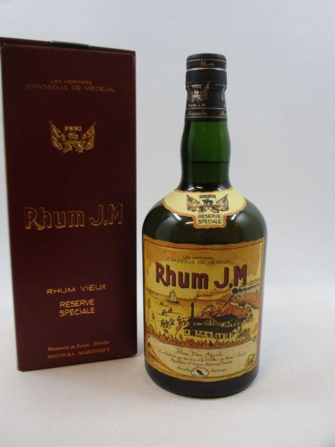 1 bouteille RHUM J