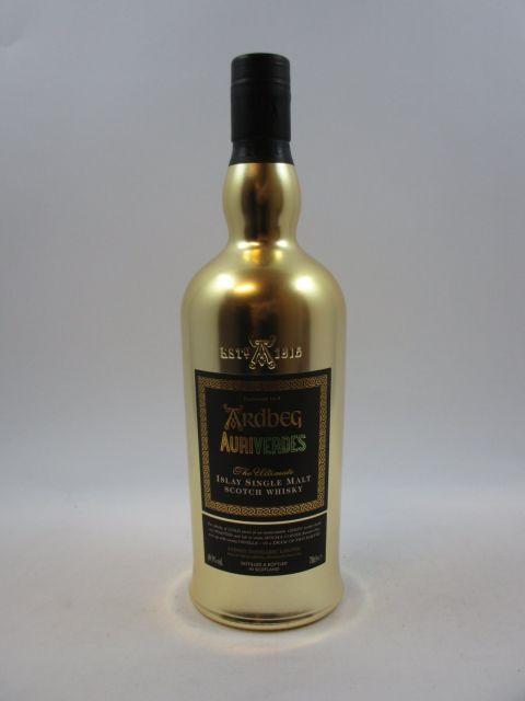 1 bouteille WHISKY ARDBEG AuriVerdes