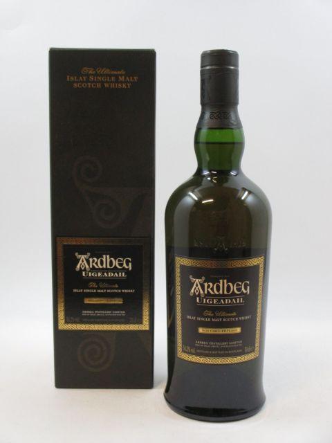 1 bouteille WHISKY ARDBEG Uigeadail