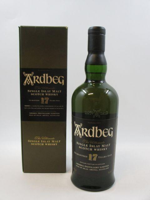 1 bouteille WHISKY ARDBEG 17 years old