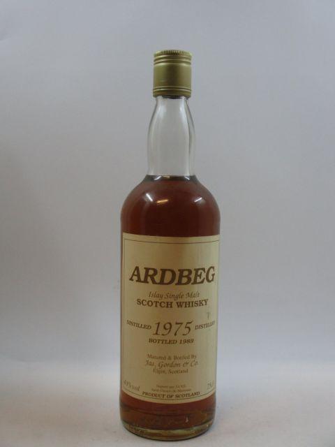 1 bouteille WHISKY ARDBEG - Jas