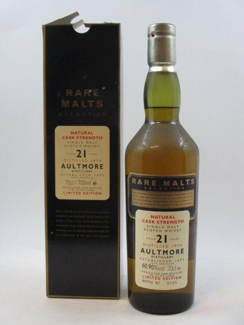 1 bouteille WHISKY AULTMORE 1974 21 years old