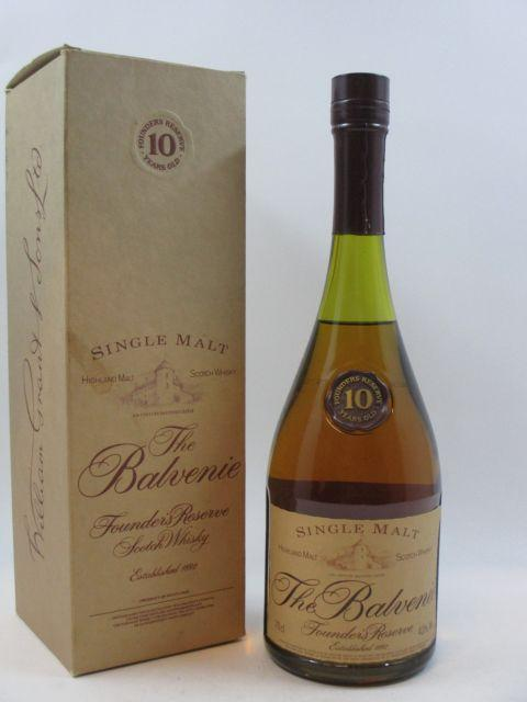 1 bouteille WHISKY BALVENIE 10 years