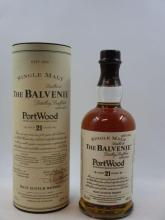 1 bouteille WHISKY BALVENIE 21 years