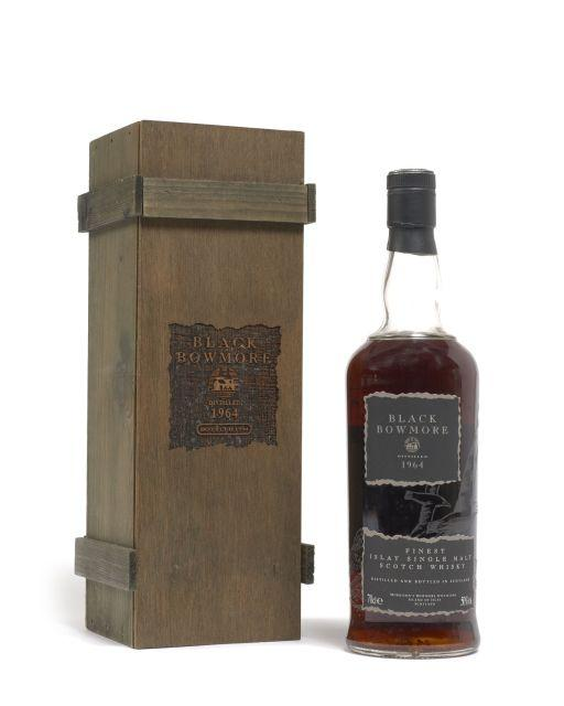 1 bouteille WHISKY BLACK BOWMORE 1964 30 years