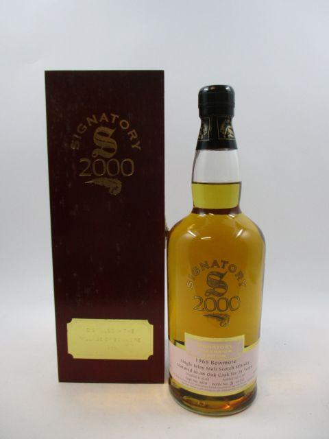 1 bouteille WHISKY BOWMORE 1968 31 years old