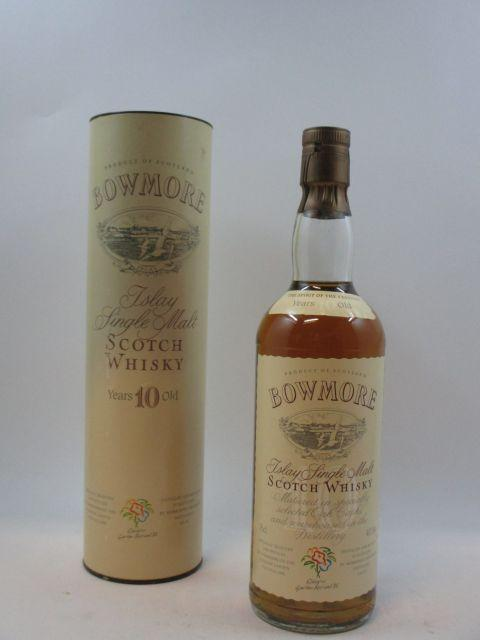 1 bouteille WHISKY BOWMORE 1988 10 years