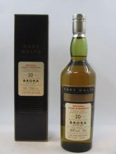 1 bouteille WHISKY BRORA 1975 12 years