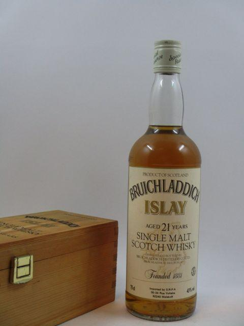 1 bouteille WHISKY BRUICHLADDICH 1965 21 years