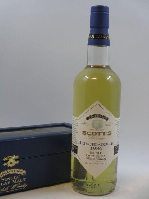 1 bouteille WHISKY BRUICHLADDICH 1986 11 years