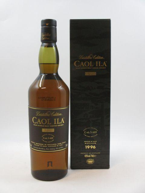 1 bouteille WHISKY CAOL ILA 1996 Special Release C-si; 5-469 Limited Edition