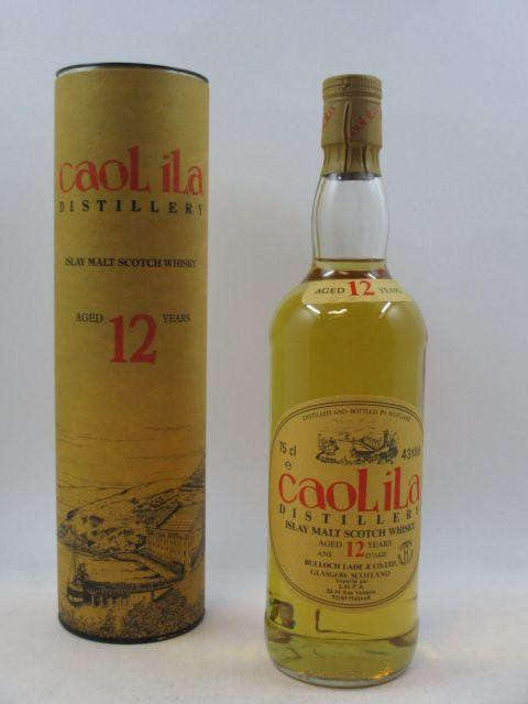 1 bouteille WHISKY CAOL ILA 12 years