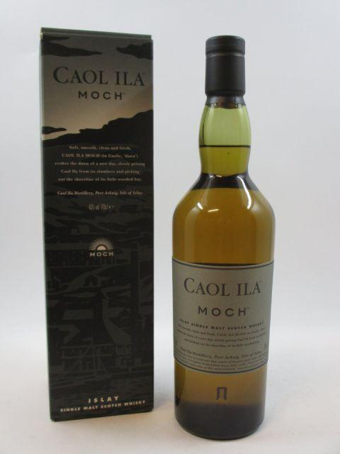 1 bouteille WHISKY CAOL ILA Moch