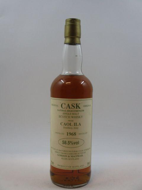 1 bouteille WHISKY CAOL ILA - GORDON & MCPHAIL 1968  Single Malt Scotch Whisky
