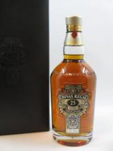 1 bouteille WHISKY CHIVAS REGAL 25 years Old Blend