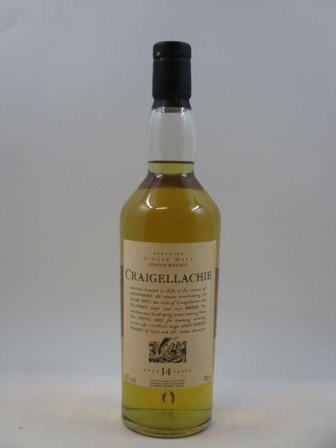 1 bouteille WHISKY CRAIGELLACHIE 14 years