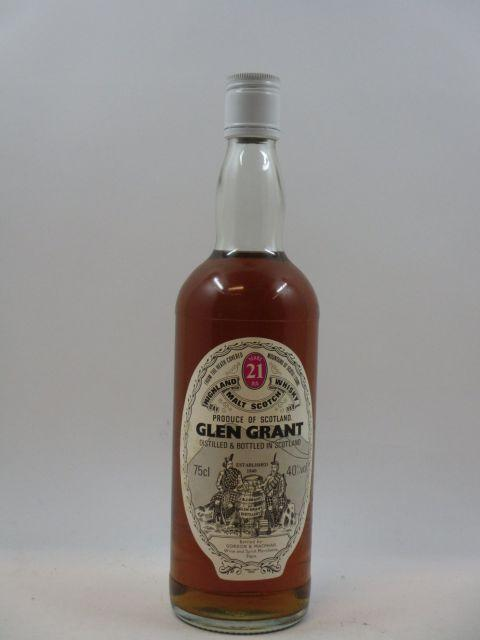 1 bouteille WHISKY GLEN GRANT - GORDON & MCPHAIL 21 years