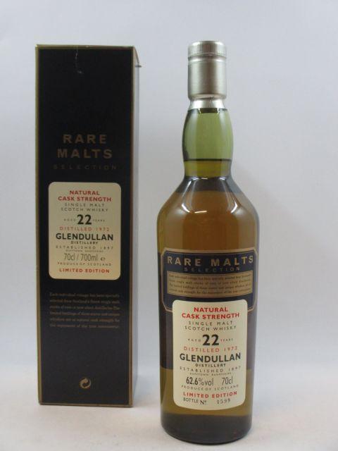 1 bouteille WHISKY GLENDULLAN 1972 22 ans