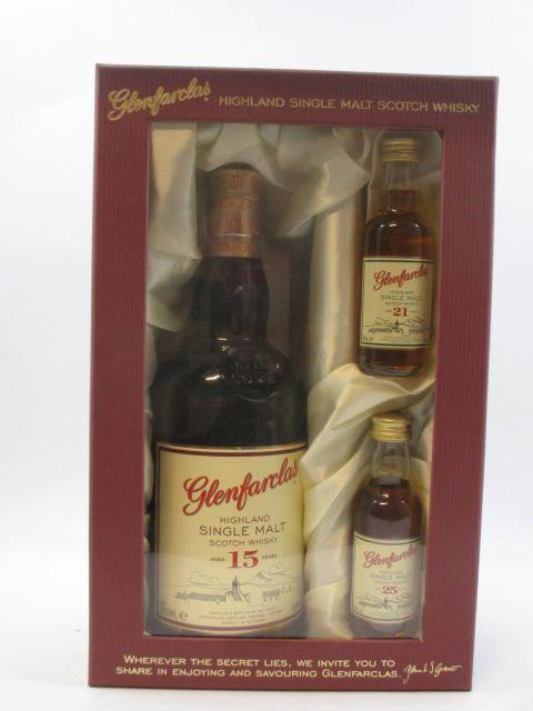 1 bouteille WHISKY GLENFARCLAS 15 years