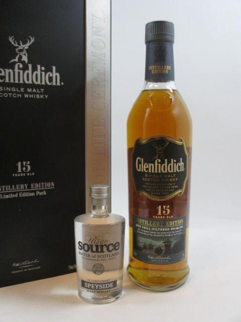 1 bouteille WHISKY GLENFIDDICH 15 Years Old