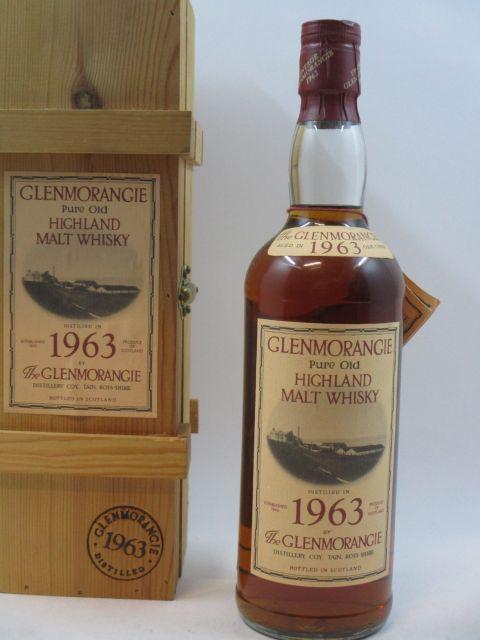 1 bouteille WHISKY GLENMORANGIE 1963 22 years