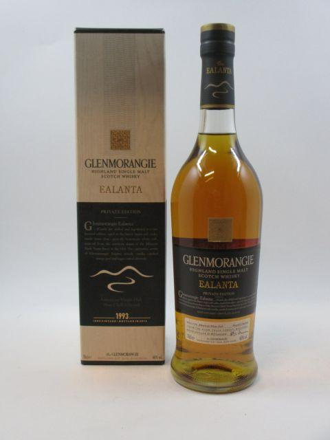 1 bouteille WHISKY GLENMORANGIE 1993 Ealanta