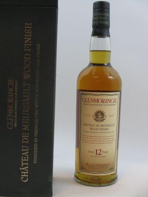 1 bouteille WHISKY GLENMORANGIE 12 years