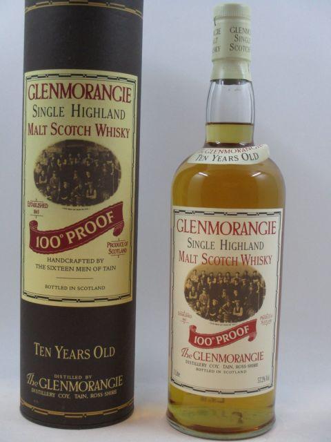 1 bouteille WHISKY GLENMORANGIE 10 years