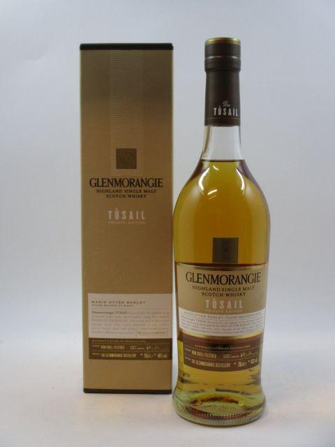 1 bouteille WHISKY GLENMORANGIE Tusail Private Edition
