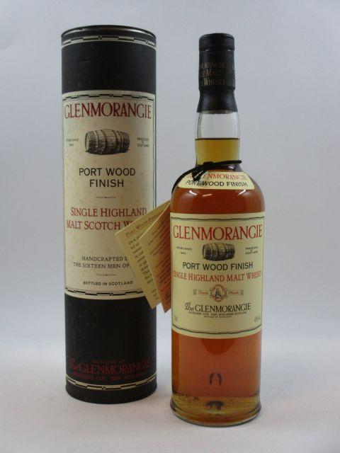 1 bouteille WHISKY GLENMORANGIE Port Wood Finish