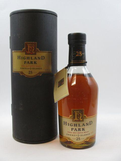1 bouteille WHISKY HIGHLAND PARK 25 years old