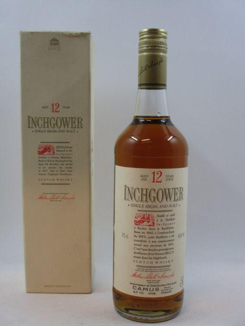 1 bouteille WHISKY INCHGOWER 12 years