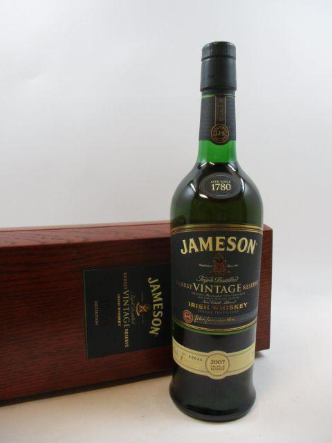 1 bouteille WHISKY JAMESON 2007 Vintage Reserve