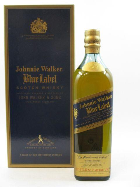 1 bouteille WHISKY JOHNNIE WALKER Blue Label