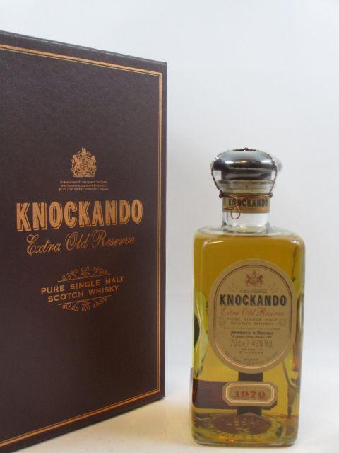 1 bouteille WHISKY KNOCKANDO 1970  Pure Single Malt Scotch Whisky