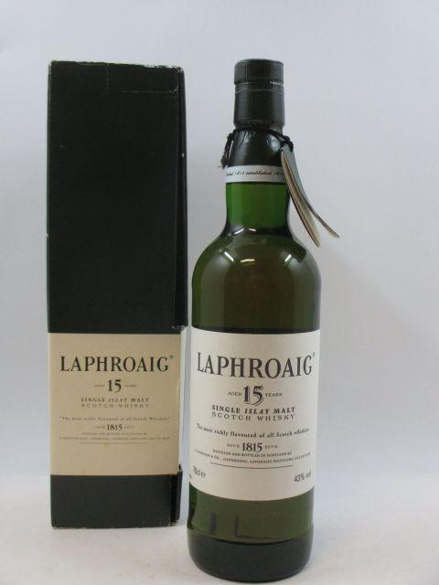1 bouteille WHISKY LAPHROAIG 15 years