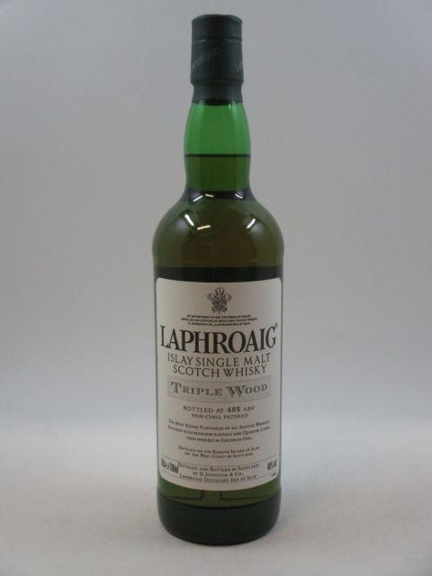 1 bouteille WHISKY LAPHROAIG Triple Wood