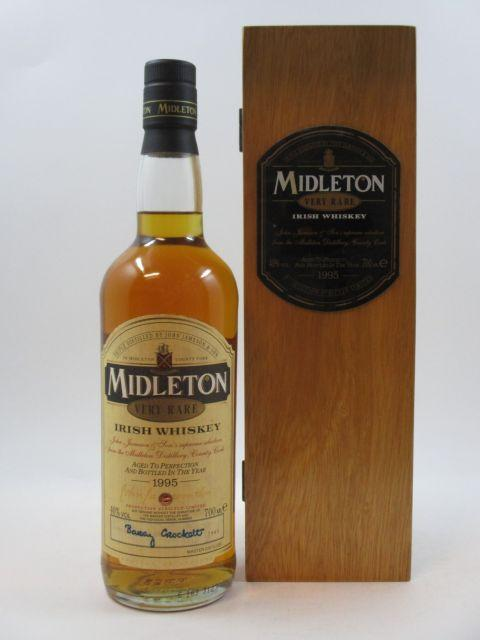1 bouteille WHISKY MIDLETON Irish Whiskey Triple Distilled by John Jameson & Sons