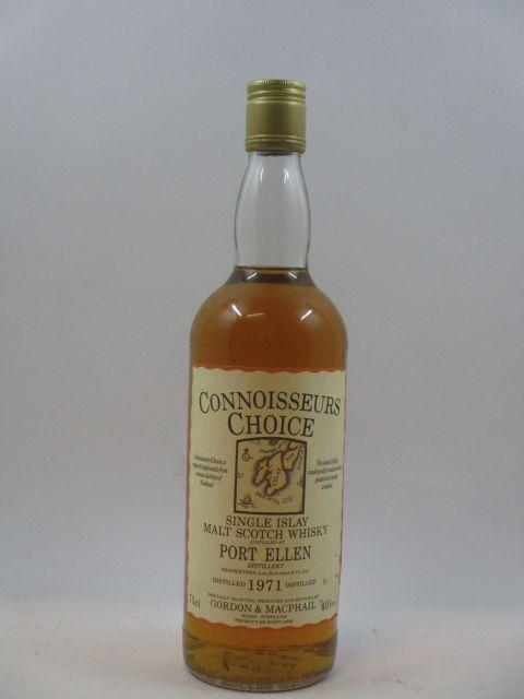 1 bouteille WHISKY PORT ELLEN - GORDON & MCPHAIL 1971  Single Islay Malt Scotch Whisky