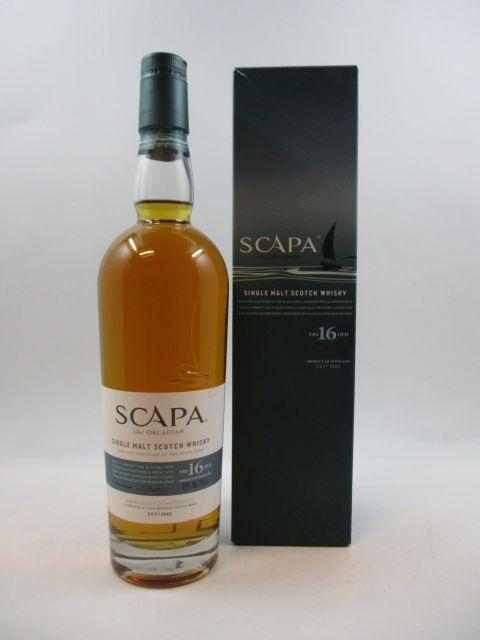 1 bouteille WHISKY SCAPA The Orcadian