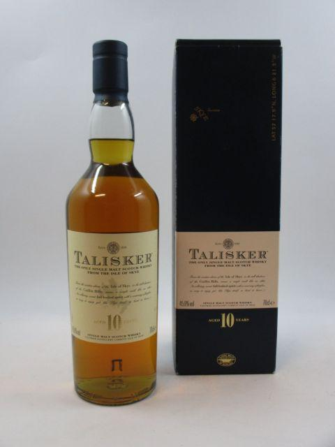 1 bouteille WHISKY TALISKER 10 years
