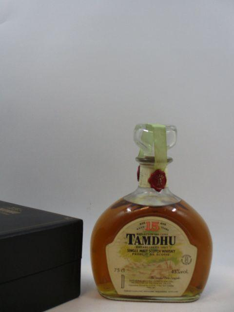 1 bouteille WHISKY TAMDHU 15 years